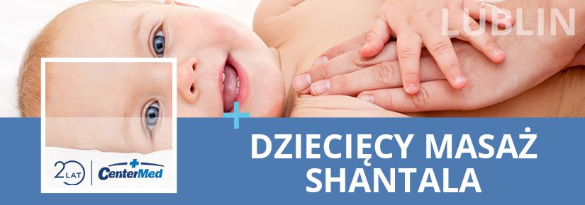 Cykl spotkań nauki Masażu Shantala w CenterMed Lublin