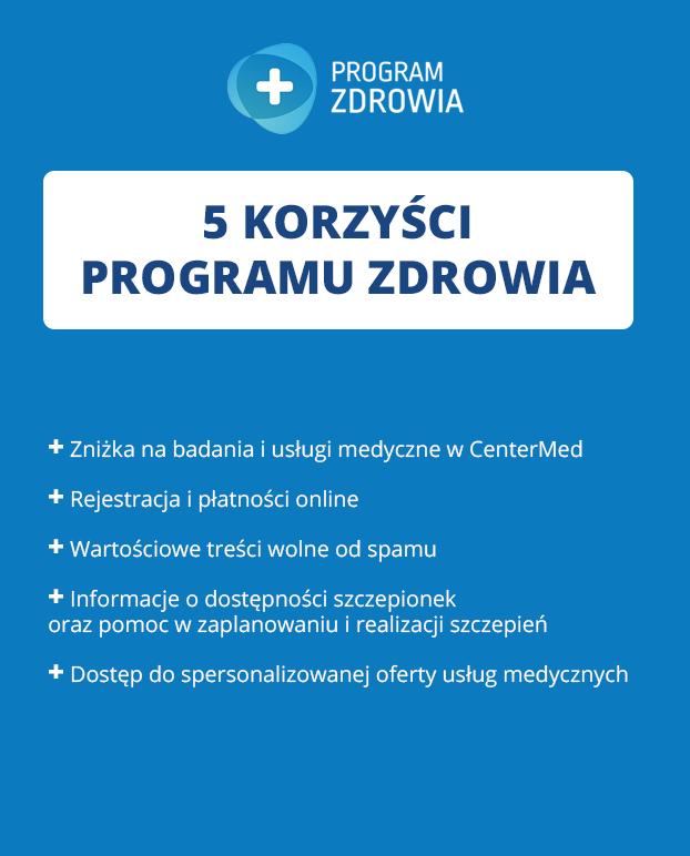 Logo programu zdrowia
